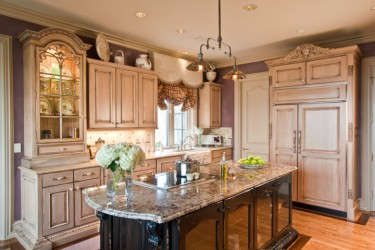 Kitchen French cabinets