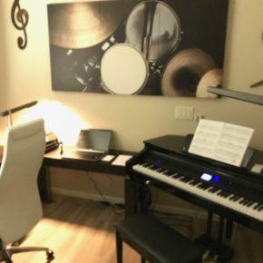 Modern Music Room